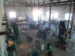Production of the heating equipmen