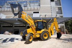 Service rent operation of excavators on Kiev