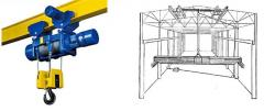 Design crane of beams