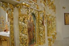 Gilding of iconostases