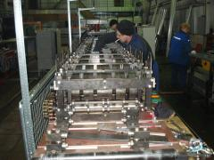 Design and production of rolling rolls for threw -