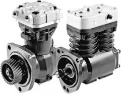 Repair of automotive compressors of Volvo, Daf,