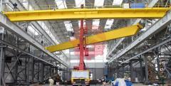 Installation of bridge cranes