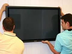 Установка LCD и LED панелей