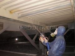 Напыление пенополиуретаном (ппу). Антикоррозионная защита металла пенополиуретаном