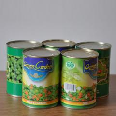 Production of stickers on cans