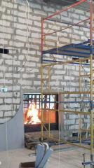 Установка каминов в Донецке монтаж дымоходов