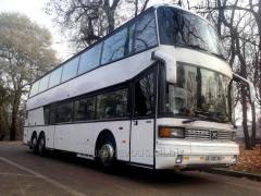 Аренда заказ двухэтажного автобуса SETRA