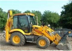 Loader on zakaz.ekskavatorny loaders of JCB 3 CX
