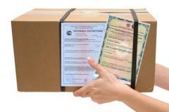 Услуги по сертификации грузов