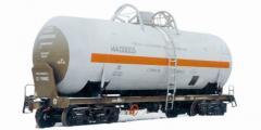 Rent of railway tanks