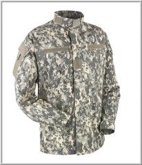 Tailoring of uniform, camouflage