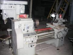 Machine works, processing, milling, drilling,