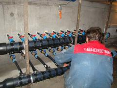 Installation of thermal pumps Odessa Ukraine