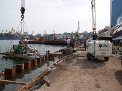 Берегоукрепление водоёмов Одесса область