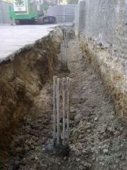 Cementation and buroinjektion Odessa area