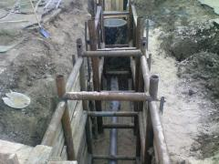 Creation of drainage systems Odessa region