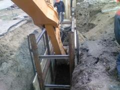 Device of drainage systems Odessa area