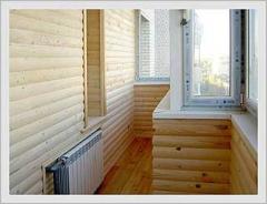 Обшивка стен блок-хаусом - unit house Ukraine. Укладка блок-хауса в Киеве - цена.