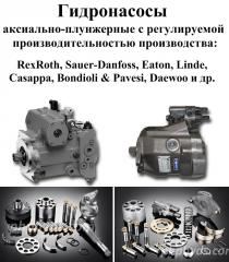 Repair of hydraulic pumps