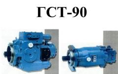 Repair of the hydraulic equipment GST-90