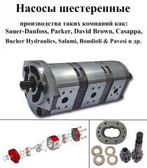 Repair of pumps gear