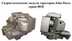 Repair of gidrostatitesky John 8030 modules