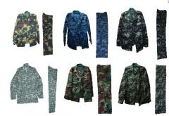 Tailoring of uniform military clothes