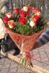 Букеты из роз.