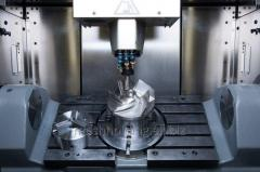Milling works with ChPU