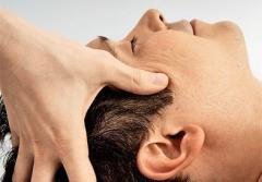 Массаж головы, лечебный массаж, 15 мин