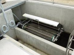 Microfiltration of sewage