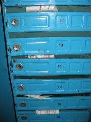 Addressless deliveries in circulation mailboxes to