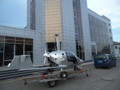 Delivery of an autogyro and accessories to the