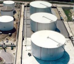 Reservoirs installation