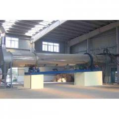 Services in drying, roasting, calcination of