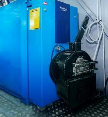 Перевод газовых котлов на твердое топливо
