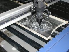 Laser cutting, engraving