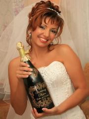 Гравировка свадебных бокалов, бутылок. Ручная