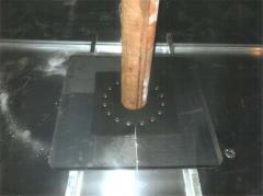 Installation of pontoons Ultraflote Corp. (USA)