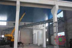 Installation of load-lifting cranes (goat, bridge,