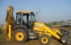 Rent of the JCB 300 JCB 400 tractor