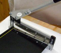 Cutting under the size of the customer of sheet