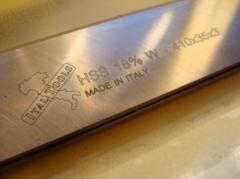 Заточка фуговальных (строгальных) ножей, фрез