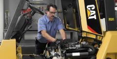 Repair of fork loaders, maintenance