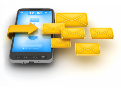 SMS mailings