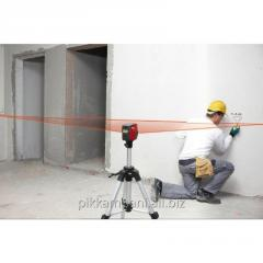 Rolling of the laser level, Rent of a laser level
