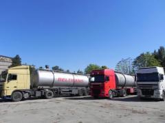 Услуги по доставке наливных грузов автоцистернами