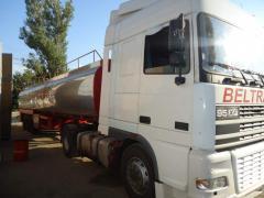 Грузовые перевозки наливных грузов пищевой и