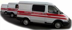 Транспортировка больных без сознания с Днепропетровска в Киев